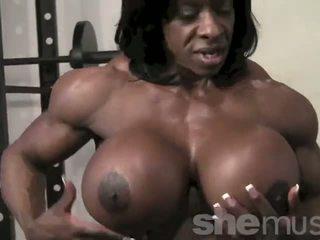 흑단 female muscle