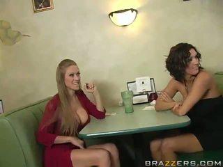 Abby rode és dylan ryder elcsábítás egy waiter és megosztás övé python