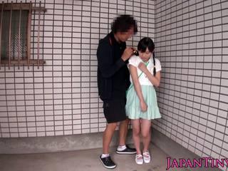 japanisch hq, nenn babes qualität, finger frisch