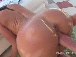 buit seks, babes actie, anaal video-
