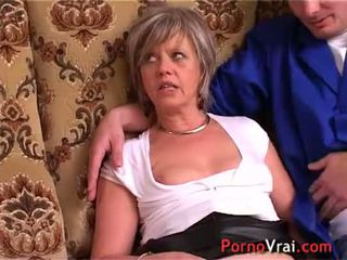 reality, orgasm, french, mature
