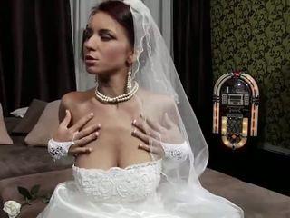 controleren jong video-, een oud neuken, bruid actie