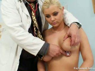 Big tits Alexa Bold very kinky gyno pussy speculum