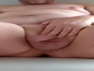 Hausgemachte Amateur-Masturbation