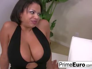 ideal brunette new, more big boobs, hq drilled all