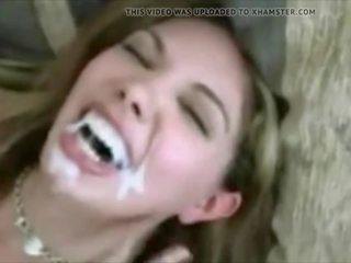 cumshots, nominale cum in de mond mov, hq gezichtsbehandelingen porno