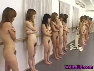 japonais, sexe de groupe, asiatique