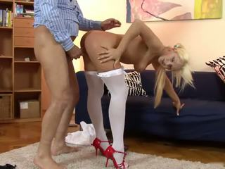 Old Man and a Candy Girl, Free Anal Porn Video 23