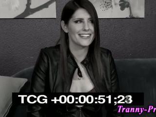 nominale brunette film, shemale, vol tranny tube