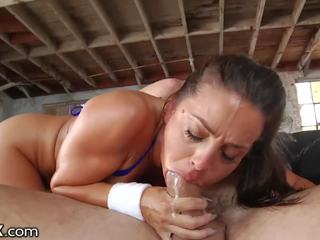 brunette any, oral sex quality, most deepthroat