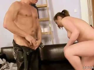 Older guy and young girl pissing and fucking