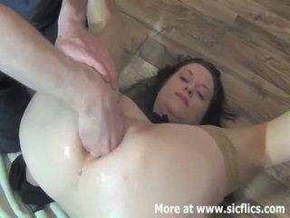Fisting The Wifes Ass For The First Time
