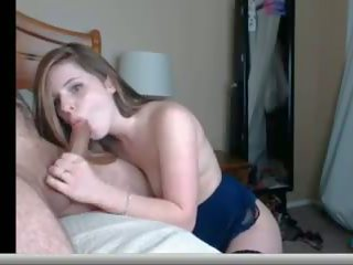 Great Deepthroat Webcam Slut, Free Webcam Deepthroat Porn Video