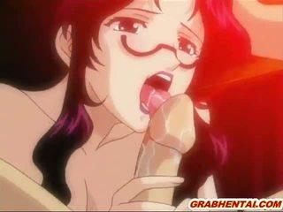 hentai, hq anime, heetste gebonden