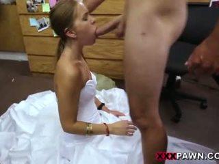 bruid, pijpbeurt film, uniform thumbnail