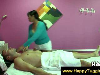 jerking, massage, asian
