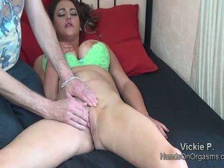 Femal orgasm with sex toys tubes