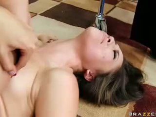 Lesbian whore Kristina Rose gets pleased on her beaver she cant stop moaning
