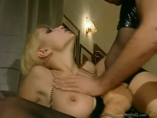 Lusty honey Julie Silver receives a hot shot of jizz all over her filthy mouth