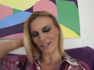 orale seks actie, vol blondjes gepost, een milf blowjob actie film