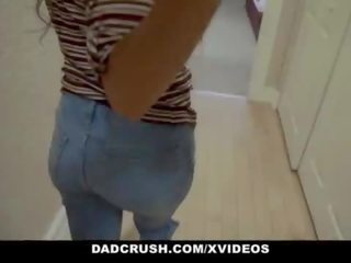 DadCrush - Dirty Church Girl Rides Stepdads Cock
