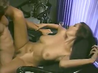 Naughty girl Tera Patrick gets her pussy slammed hard and creampied