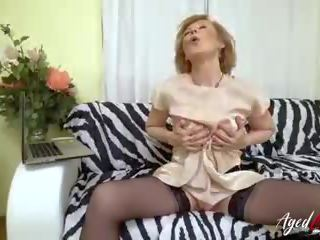 Agedlove Hot Grandma Fucking with Horny Youngster: Porn a9