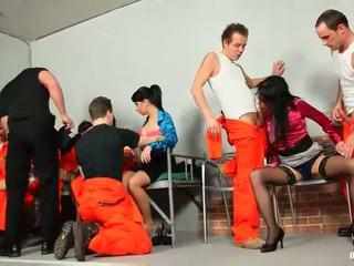 Prison power fuck party