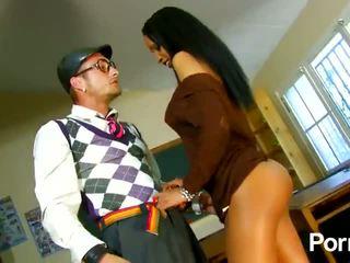 Naughty boy gets hot fuck with mrs.teacher (Katya de lys) - Porn Video 241