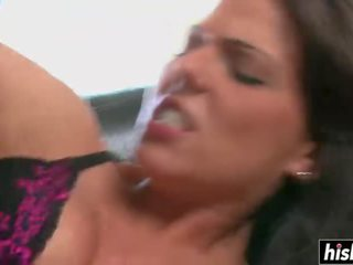 Fat black cock in Simony's ass