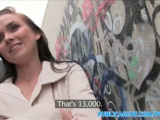 PublicAgent Hot babe fucks stranger in alleyway - Porn Video 961
