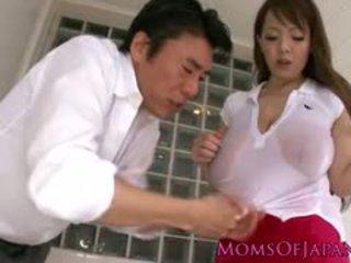vol japanse klem, grote borsten, controleren hardcore neuken