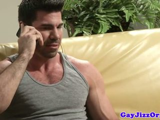 gay porno, stud fucking, new muscle