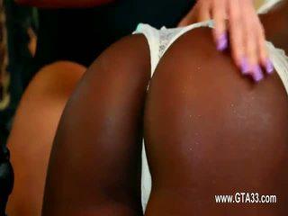 Incredible ass acrobat girl2girl toying holes deeply