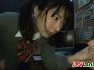 Japanese Schoolgirl Wants Her Teacher