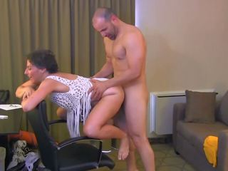 Hot MILF and Her Younger Lover 693, Free Porn f4