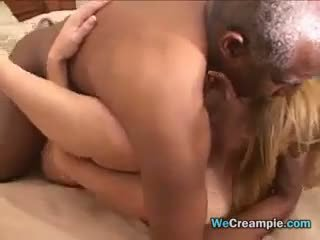 old+young, black and ebony, creampie