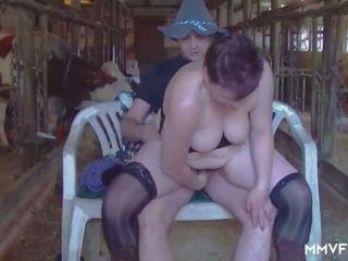 Kinky Redhead Grandma Swallows, Free MMV Films Porn Video 70