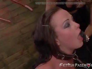 lesbisch video-, u drietal klem, controleren bdsm kanaal