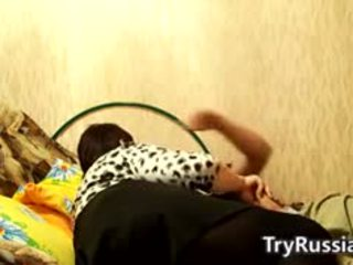 Horny Russian Woman With Her Step Son