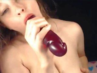 Tettona cam ragazza getting selvaggia su cam, gratis porno b8