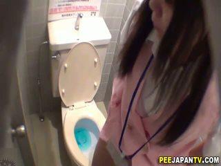 voyeur, urina, asiatic