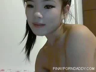Cute Chinese Teen on Webcam - Pinayporndaddy