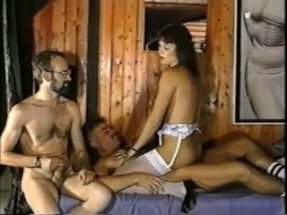 wijnoogst klem, biseksuelen video-