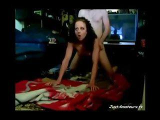 fun brunette sex, watch amateur video