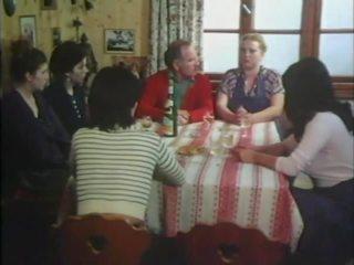 mooi groepsseks klem, tieners, alle wijnoogst scène