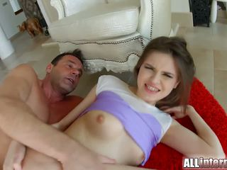 brunette, real anal sex, caucasian