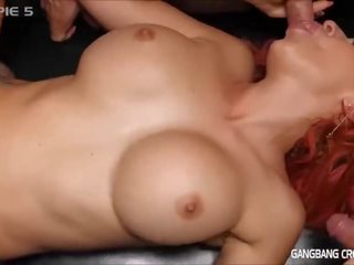 brunette, nice cumshots, any toys any