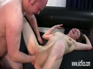 jong video-, plezier invoeging porno, groot gapende tube