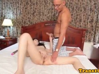 Postop Tranny Pussyfucked Before Cumshot